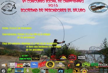 VI Concurso social de Carpfishing de la SDP El Siluro