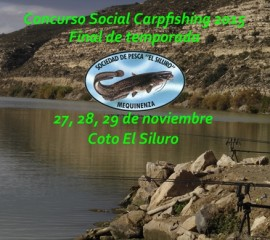 Concurso Final Temporada – Carpfishing 2015